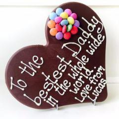Personalised Chocolate Heart
