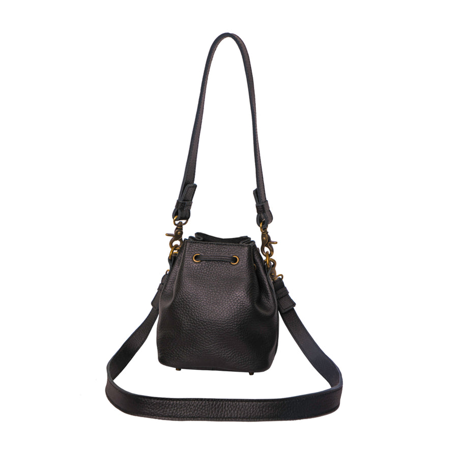Rebel Toy Leather Bucket Bag