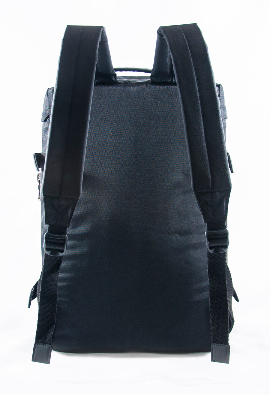 Revolt Round Backpack (Black)