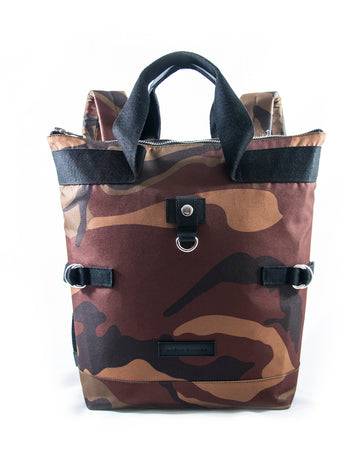 Revolt Angled Backpack (Brown Camo)