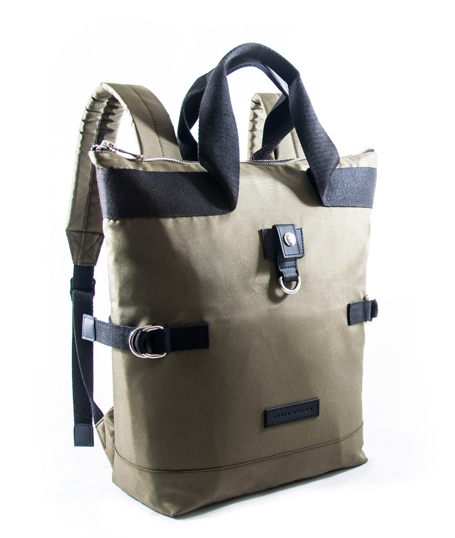 Revolt Angled Backpack (Army Green)