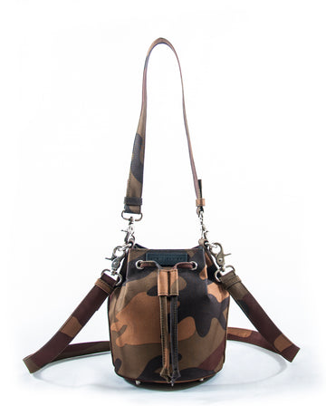 Revolt Toy Bucket Bag Camo (Brown)