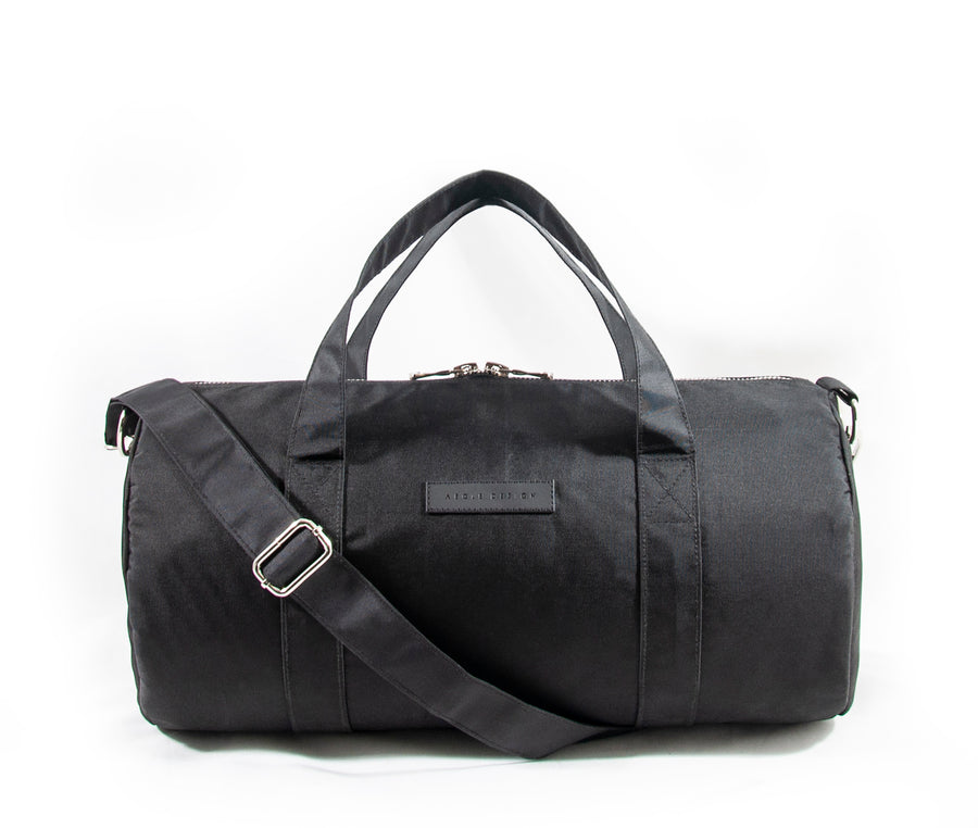 Revolt Round Gym Bag (Black)