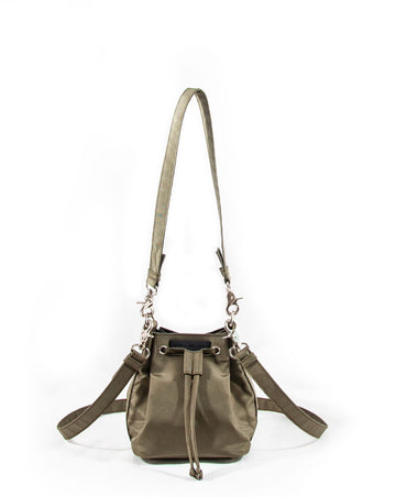 Revolt Square Toy Bucket Bag (Army Green)