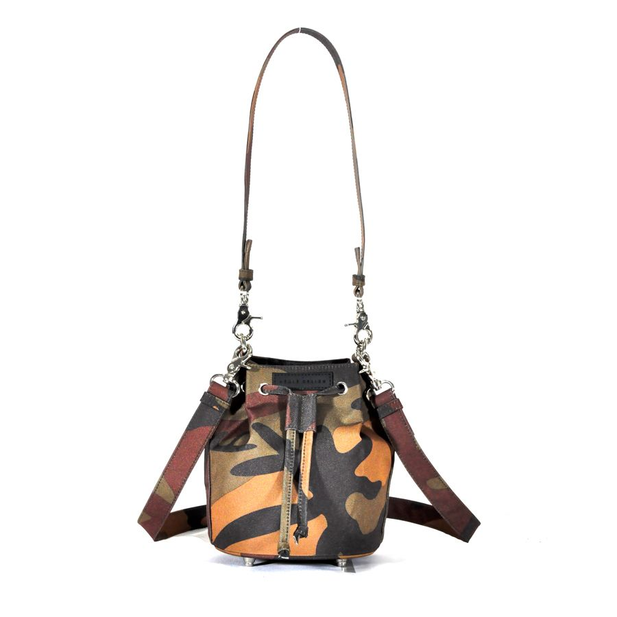 Revolt Square Toy Bucket Bag (Brown Camo)