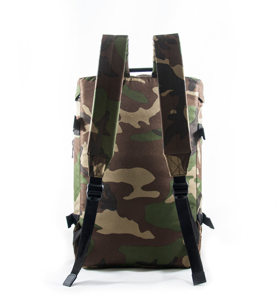 Revolt Round Backpack (Green Camo)