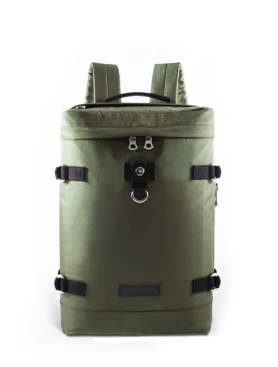 Revolt Round Backpack (Army Green)