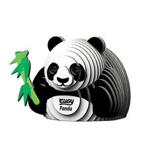 Eugy Dodoland Encourage your creativity and build this amazing panda.  Environmentally friendly pack includes 6 to 7 numbered cards ready to assemble, non-toxic glue and uses eco-friendly inks.  Conforms to international safety standards (EN71-1,2,3 and CPSIA)
