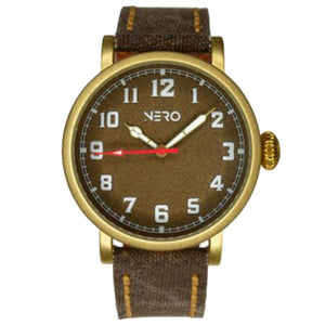 Nautilus Bronze and Canvas Watch