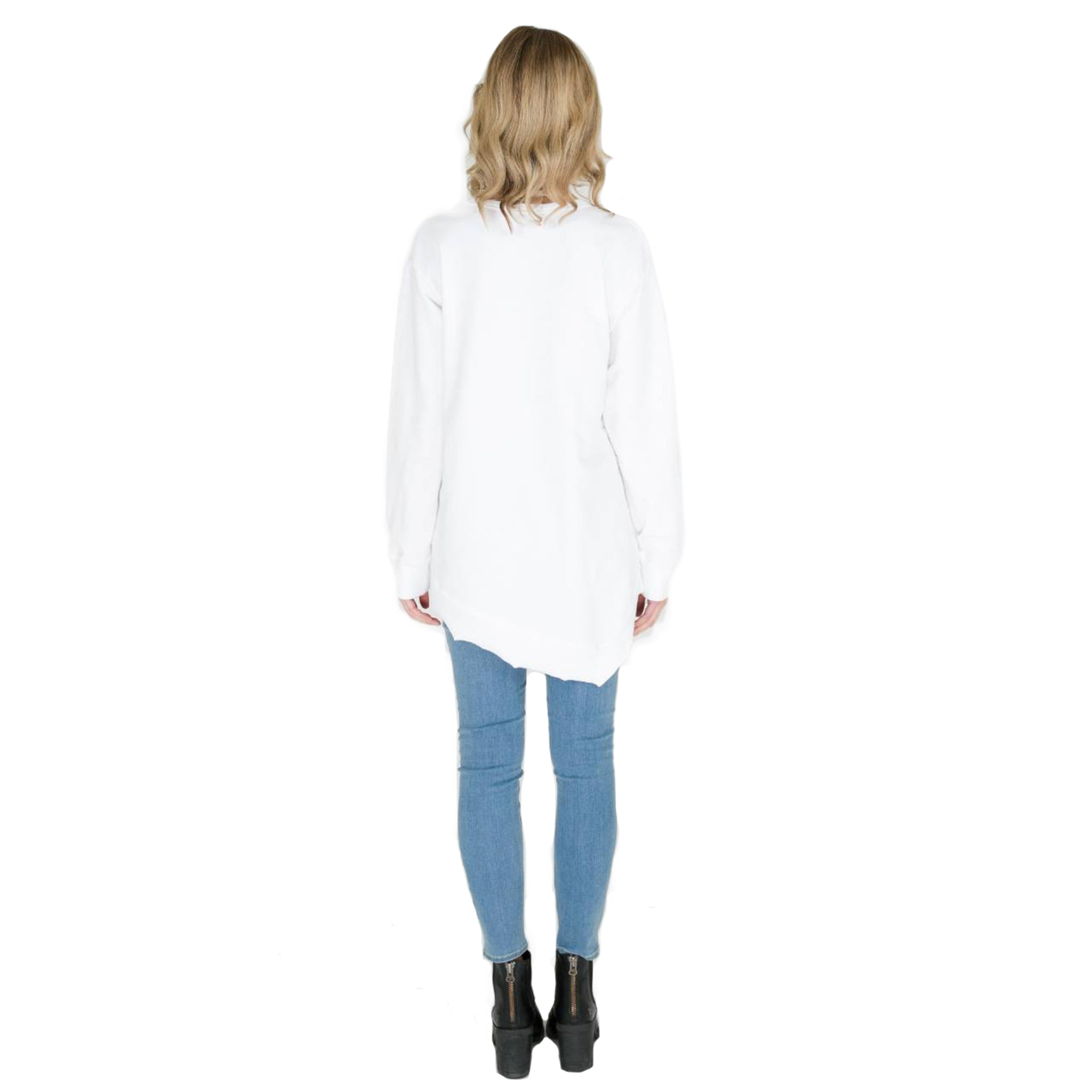 Ulverstone Sweater in White