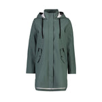 Load image into Gallery viewer, Billie Rain Coat in Seal Grey