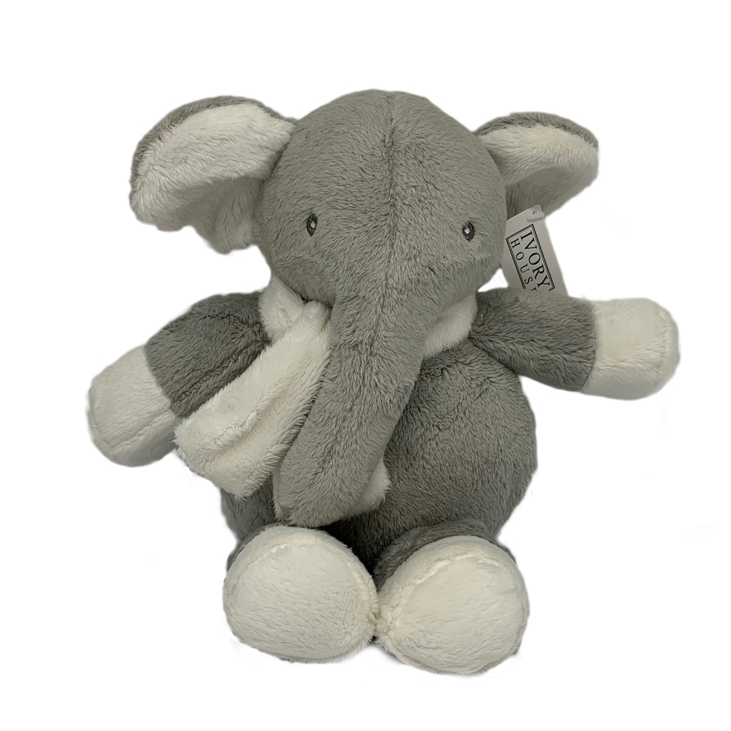 Ellie Elephant is a gorgeous gift with the softest grey fur and a cute little scarf. Guaranteed to please. 30 cm, all new materials.