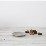 Load image into Gallery viewer, A gorgeous little side plate available in 2 sizes, serve a few little cookies or chocolates or some cheese. This organic Shape fits perfectly in your modern home.