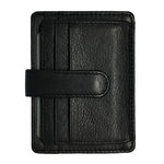 Load image into Gallery viewer, Oran Leather's Sasha Card Holder in Leather features a clip, 6 card slots, 1 i.d. slot and 1 hidden compartment. Fitted with RFID technology.  H 8 cm x L 11 cm x W 0.5 cm.
