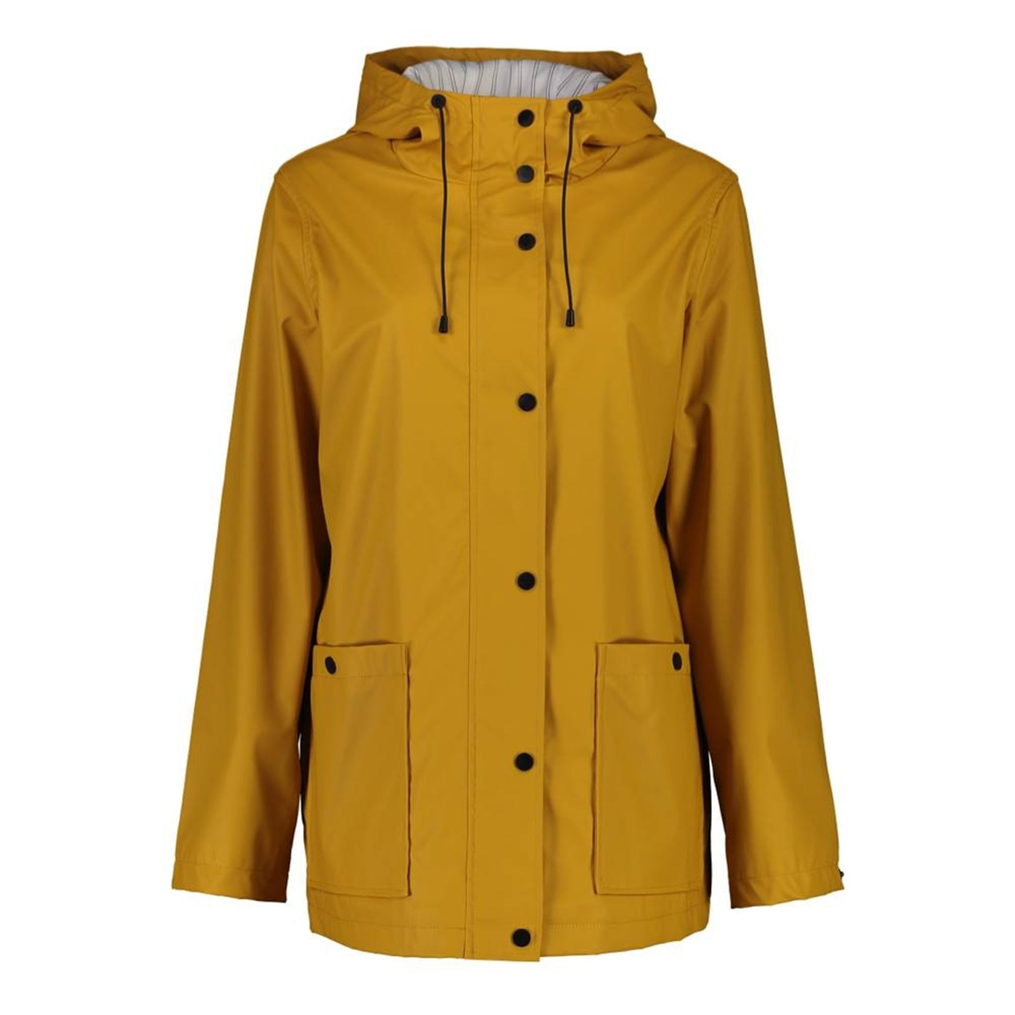 Ella Rain Jacket in Mustard