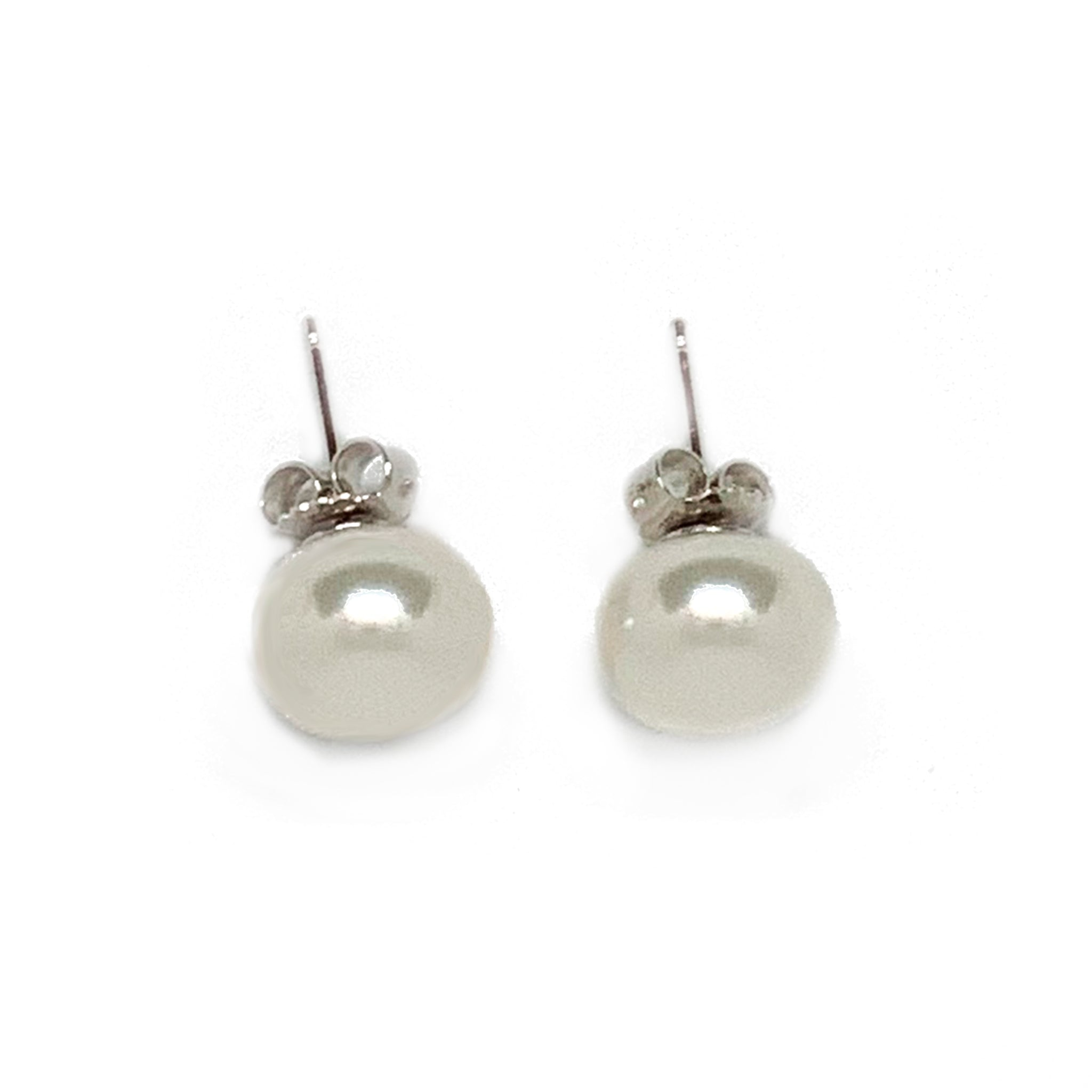 Medium Pearl Studs