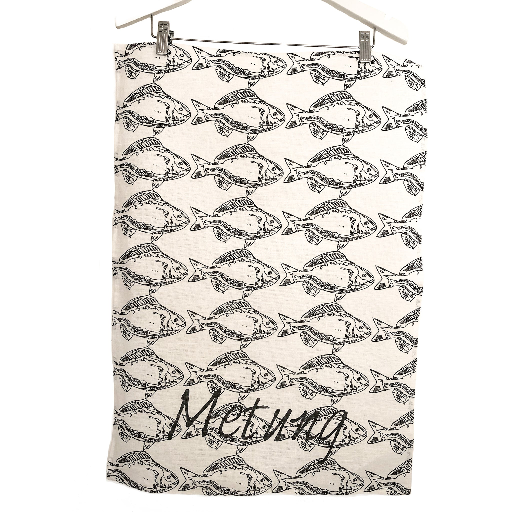 Metung Tea Towel with Fish