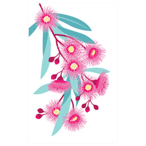 Flowering Gum Tea Towel by All Gifts Australia