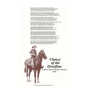 Clancy Overflow Tea Towel by All Gifts Australia