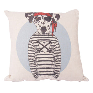 Pirate Dalmation Cushion Cover