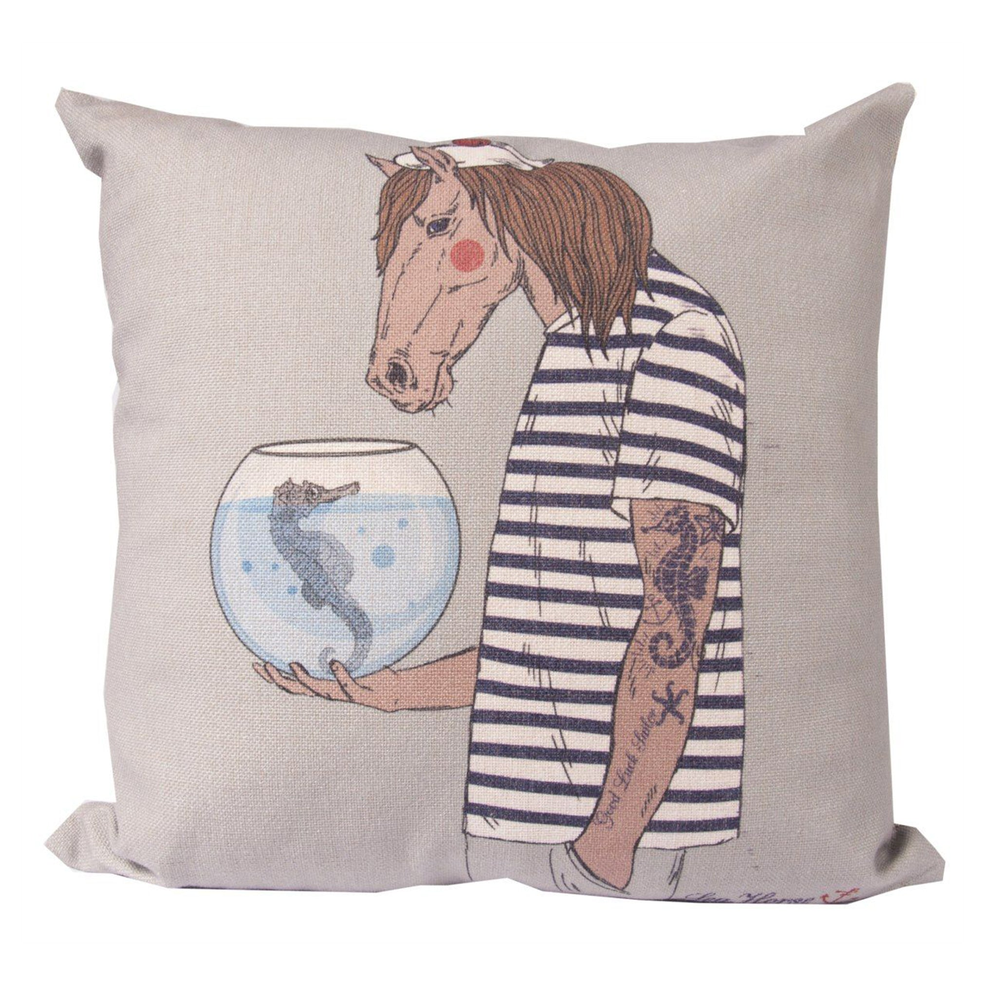 Horse See Horse Cushion Cover