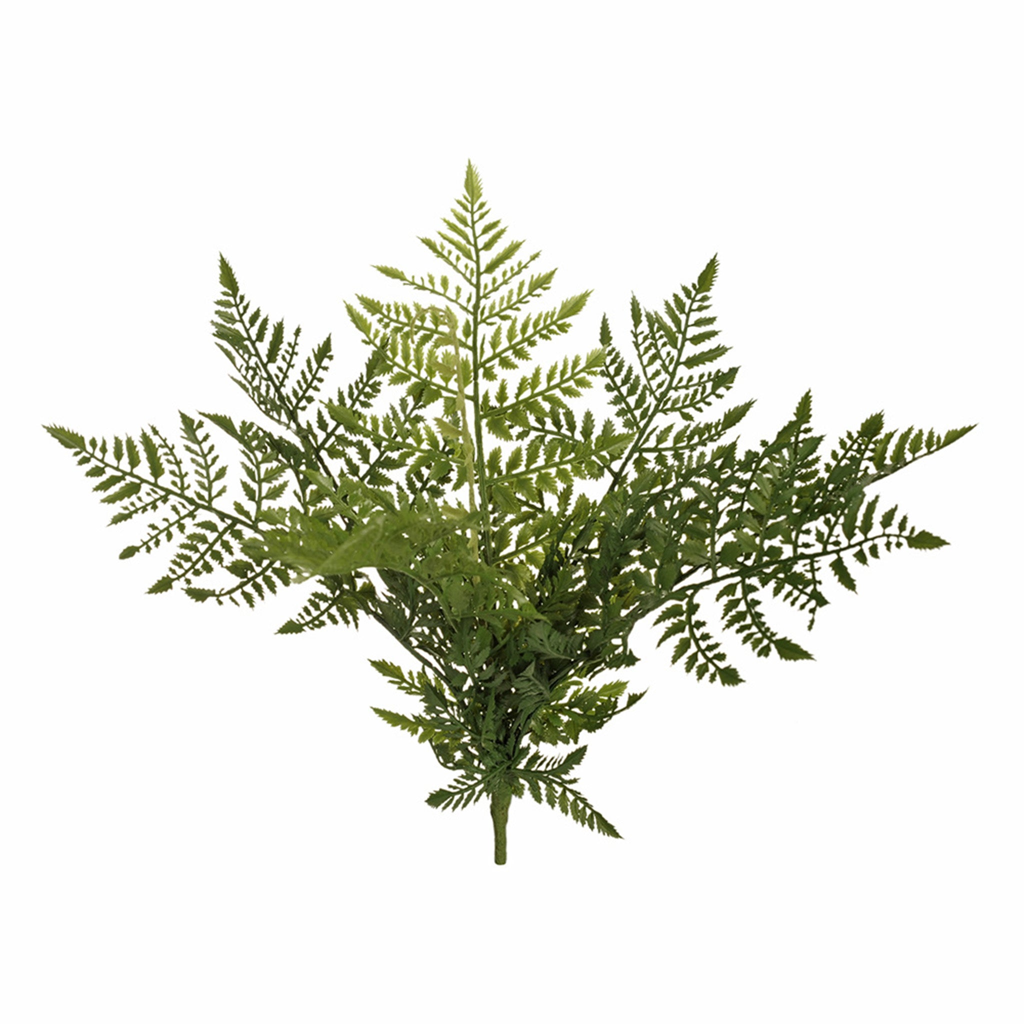 This lovely fern leather bush will combine beautifully with a range of other artificial ferns and greenery to achieve your own amazing faux garden oasis. Be sure to keep your fern bush out of direct sunlight. 38cm