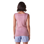 Load image into Gallery viewer, Melody Fitted V Neck Tank Vanilla