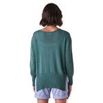 Load image into Gallery viewer, Quinn High/Low Jersey Crew Neck Jumper Dove
