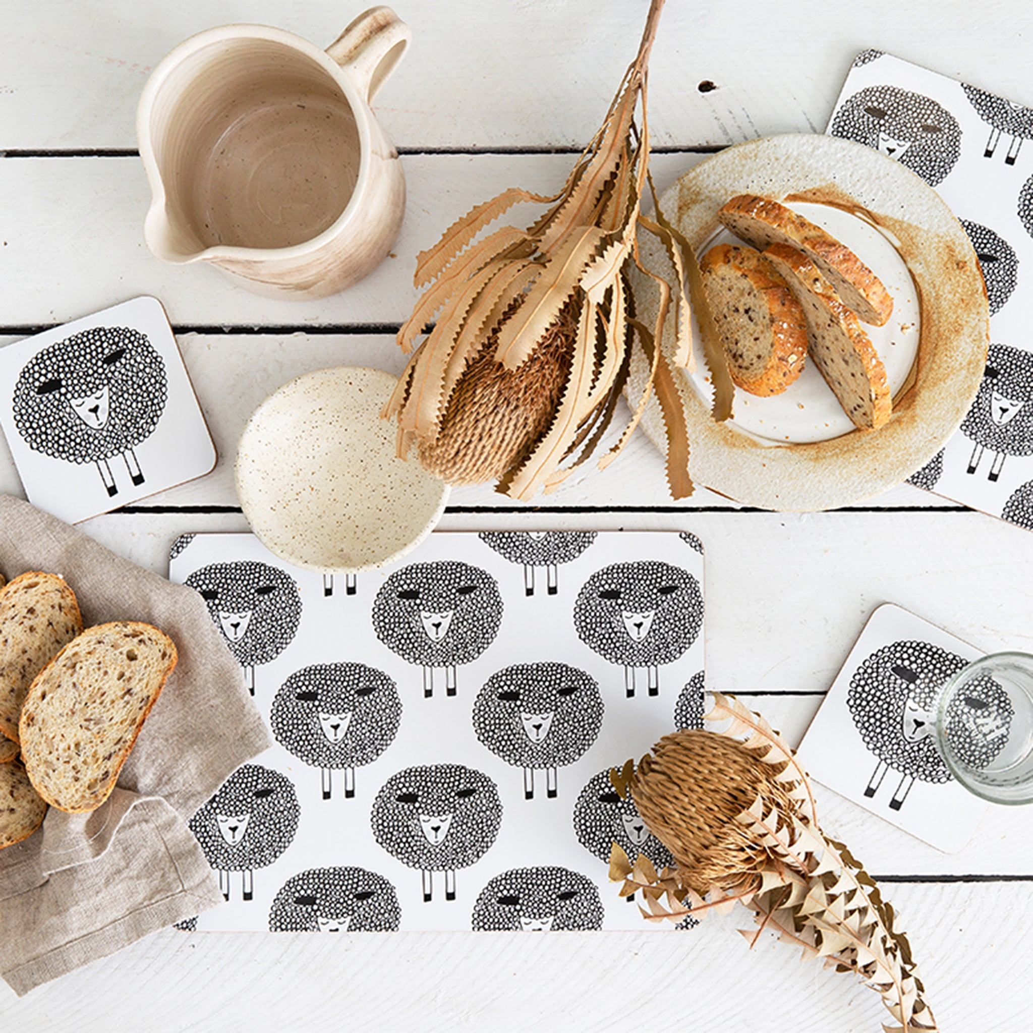 Snoozy Sheep Coasters