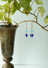 Load image into Gallery viewer, Greek Eye Earrings