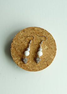 White Snow Earrings