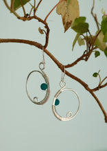 Load image into Gallery viewer, Turaco Bird Earrings