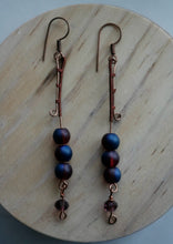 Load image into Gallery viewer, Loving Dance Song Copper Earrings