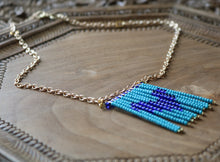 Load image into Gallery viewer, Love in Blue Tones Necklace