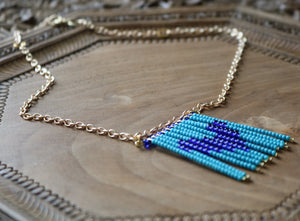 Love in Blue Tones Necklace