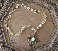 Load image into Gallery viewer, Cameo Cross Necklace