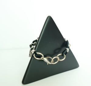 Night Prayer Leather Bracelet