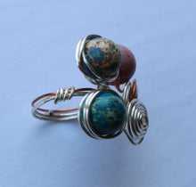Load image into Gallery viewer, Blue Jasper Ring