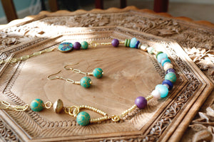 Persian Green & Gold Set