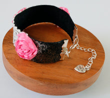 Load image into Gallery viewer, Leather & Lace Bracelet