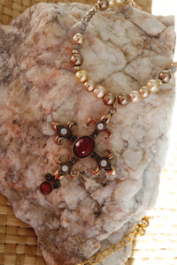 Amber Pearls Necklace