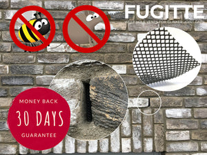 FUGITTE joints mesh protection against mice and wasps in the clinker