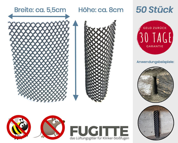 FUGITTE Joint Grille - 50 pieces (8cm high)