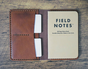 Passport Wallet - Medium Brown