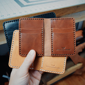 Vertical Bifold w/ Money Clip