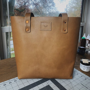 Saddle Breen Tote