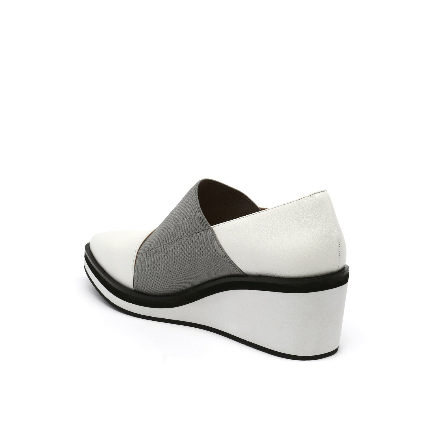Wrap Mid Wedge Off-White