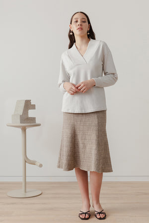 Eveline Skirt - Biscuit