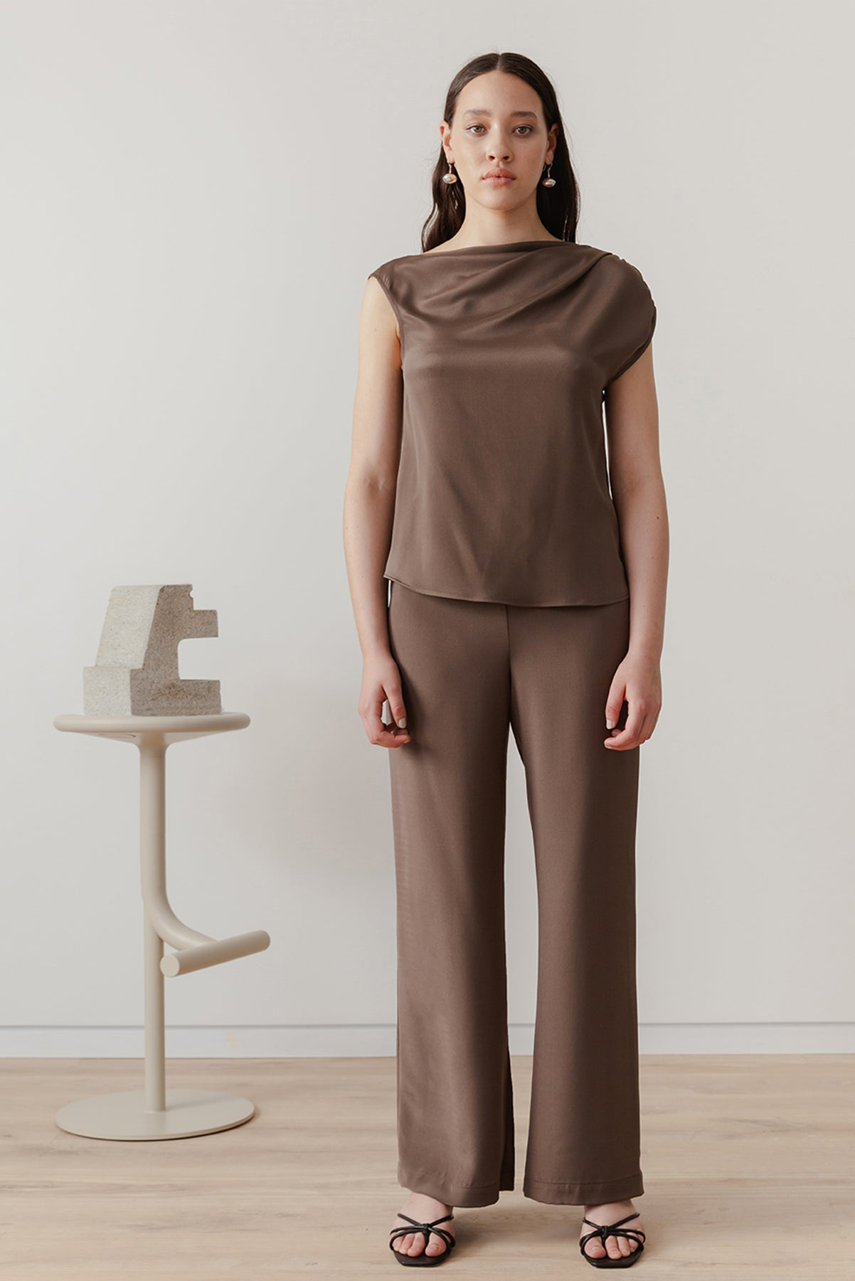 Eveline Pant - Chocolate