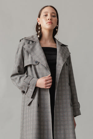 Forever Trench Coat - Licorice Allsorts